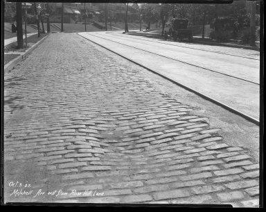 Street Improvement Photographs -- Box 41, Folder 24 (Mitchell Avenue) -- negative, 1927-10-03