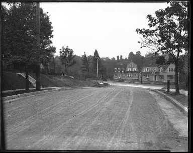 Street Improvement Photographs -- Box 42, Folder 01 (Monteith Avenue) -- negative, 1928