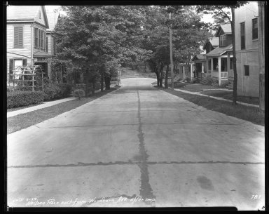 Street Improvement Photographs -- Box 42, Folder 15 (Neilson Place) -- negative, 1929-07-05