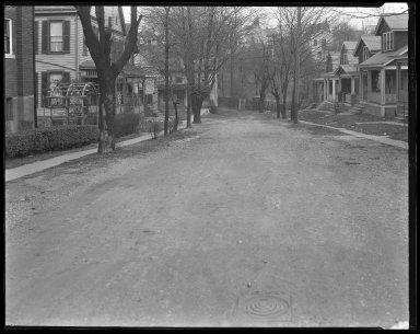 Street Improvement Photographs -- Box 42, Folder 15 (Neilson Place) -- negative, 1929