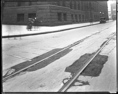 Street Improvement Photographs -- Box 42, Folder 18 (Ninth Street) -- negative, 1920