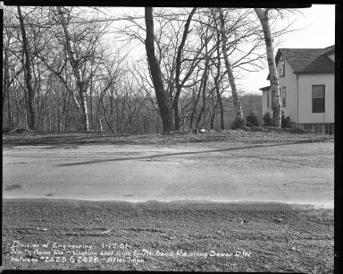 Street Improvement Photographs -- Box 42, Folder 27 (North Bend Road) -- negative, 1951-01-17