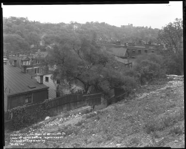 Street Improvement Photographs -- Box 42, Folder 37 (North Wendell Alley) -- negative, 1945-04-26