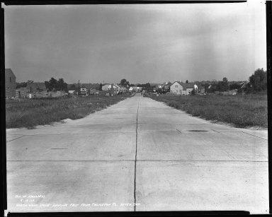 Street Improvement Photographs -- Box 42, Folder 38 (Northwood Drive) -- negative, 1939-09-19