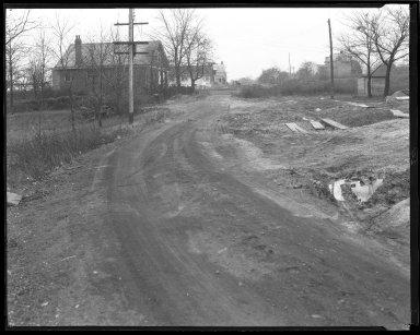 Street Improvement Photographs -- Box 42, Folder 39 (Norwich Avenue) -- negative, 1929