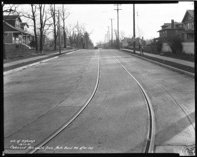Street Improvement Photographs -- Box 42, Folder 42 (Oakwood Avenue) -- negative, 1931-12-17