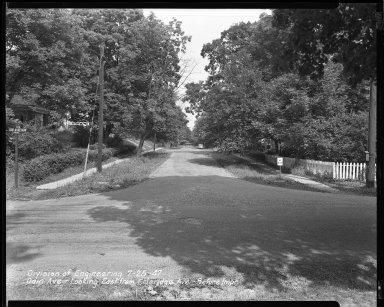 Street Improvement Photographs -- Box 42, Folder 45 (Odin Avenue) -- negative, 1947-07-25