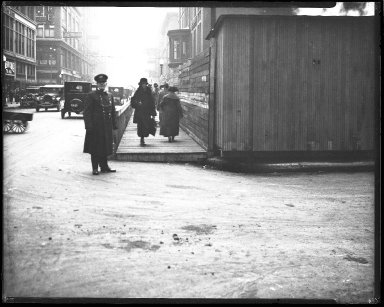 Street Improvement Photographs -- Box 42, Folder 51 (Opera Place) -- negative, 1924