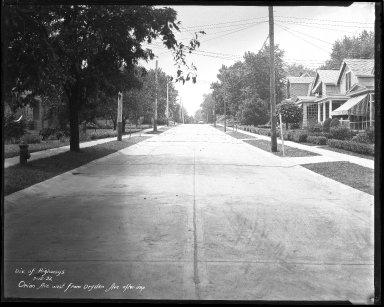 Street Improvement Photographs -- Box 42, Folder 52 (Orion Avenue) -- negative, 1932-07-15