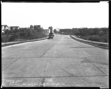 Street Improvement Photographs -- Box 42, Folder 53 (Overlook Avenue) -- negative, 1930-09-19