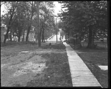 Street Improvement Photographs -- Box 43, Folder 07 (Paxton Avenue) -- negative, 1930