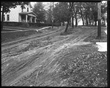 Street Improvement Photographs -- Box 43, Folder 08 (Paxton Avenue) -- negative, 1930