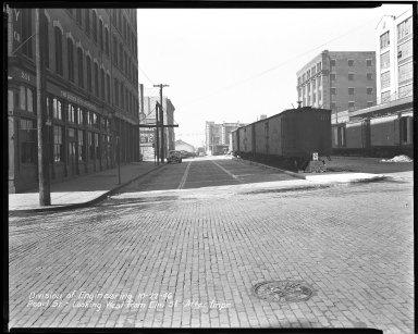 Street Improvement Photographs -- Box 43, Folder 09 (Pearl Street) -- negative, 1946-10-22