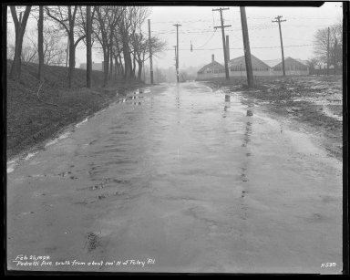 Street Improvement Photographs -- Box 43, Folder 12 (Pedretti Avenue) -- negative, 1929-02-25