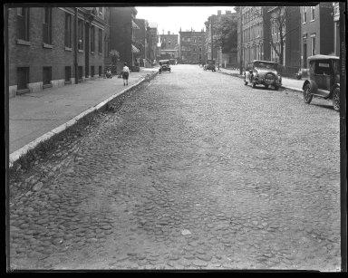 Street Improvement Photographs -- Box 43, Folder 20 (Pine Street) -- negative, 1929