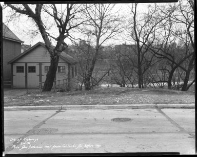 Street Improvement Photographs -- Box 43, Folder 27 (Price Avenue) -- negative, 1932-02-04