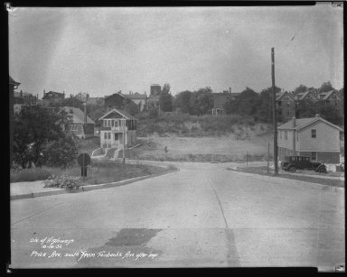 Street Improvement Photographs -- Box 43, Folder 27 (Price Avenue) -- negative, 1932-10-19