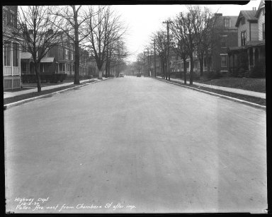 Street Improvement Photographs -- Box 43, Folder 28 (Pullan Avenue) -- negative, 1930-12-05