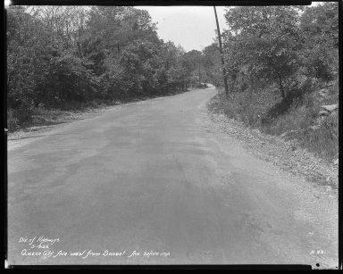 Street Improvement Photographs -- Box 43, Folder 32 (Queen City Avenue) -- negative, 1932-05-17