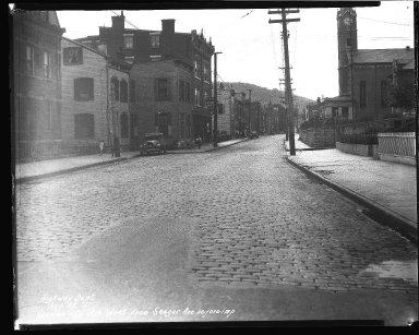 Street Improvement Photographs -- Box 43, Folder 32 (Queen City Avenue) -- negative, 1931-08-28
