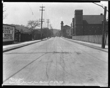 Street Improvement Photographs -- Box 43, Folder 33 (Queen City Avenue) -- negative, 1931-04-29