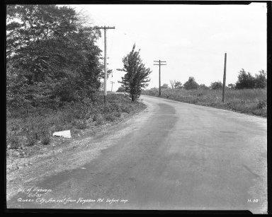 Street Improvement Photographs -- Box 43, Folder 33 (Queen City Avenue) -- negative, 1932-05-17