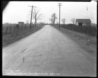Street Improvement Photographs -- Box 43, Folder 33 (Queen City Avenue) -- negative, 1930-11-14
