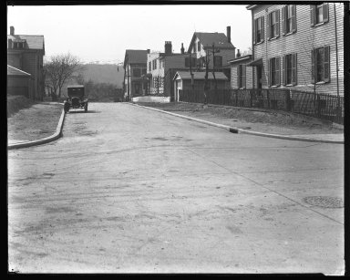 Street Improvement Photographs -- Box 43, Folder 38 (Ralston Avenue) -- negative, 1924