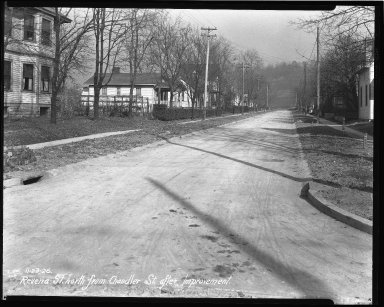 Street Improvement Photographs -- Box 43, Folder 42 (Ravenna Street) -- negative, 1926-11-23