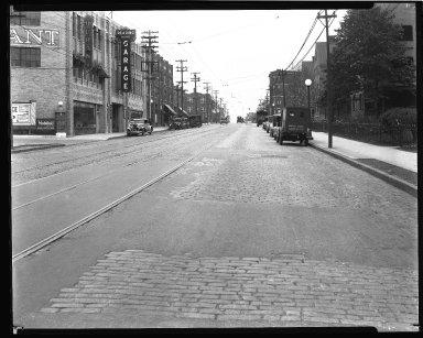 Street Improvement Photographs -- Box 43, Folder 44 (Reading Road) -- negative, 1929