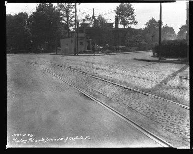 Street Improvement Photographs -- Box 43, Folder 47 (Reading Road) -- negative, 1928-06-12