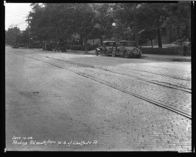 Street Improvement Photographs -- Box 43, Folder 48 (Reading Road) -- negative, 1928-06-12