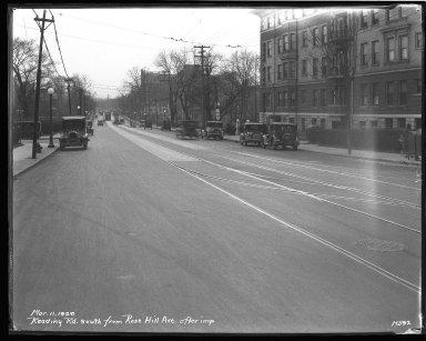 Street Improvement Photographs -- Box 43, Folder 48 (Reading Road) -- negative, 1929-03-11