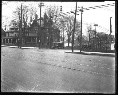 Street Improvement Photographs -- Box 43, Folder 52 (Reading Road) -- negative, 1929