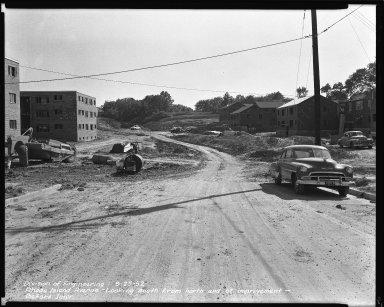 Street Improvement Photographs -- Box 43, Folder 58 (Rhode Island Avenue) -- negative, 1952-09-25