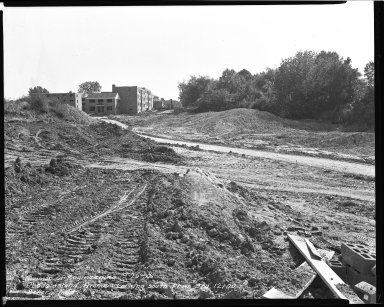 Street Improvement Photographs -- Box 43, Folder 59 (Rhode Island Avenue) -- negative, 1952-09-25