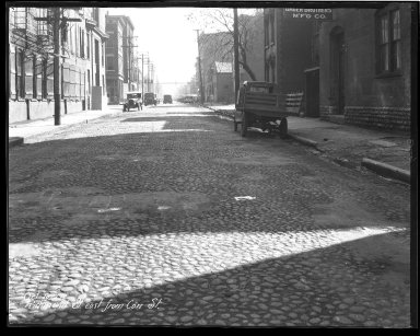 Street Improvement Photographs -- Box 44, Folder 02 (Richmond Street) -- negative, 1928-10-10