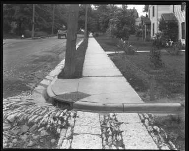 Street Improvement Photographs -- Box 44, Folder 04 (Ridge Avenue) -- negative, 1930
