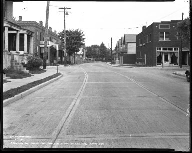 Street Improvement Photographs -- Box 44, Folder 10 (Robertson Avenue) -- negative, 1939-09-15