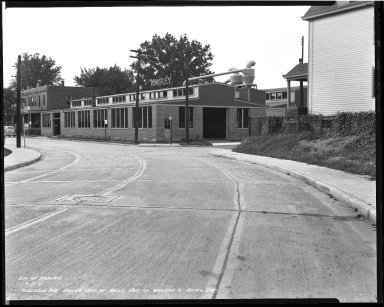 Street Improvement Photographs -- Box 44, Folder 11 (Robertson Avenue) -- negative, 1939-09-15