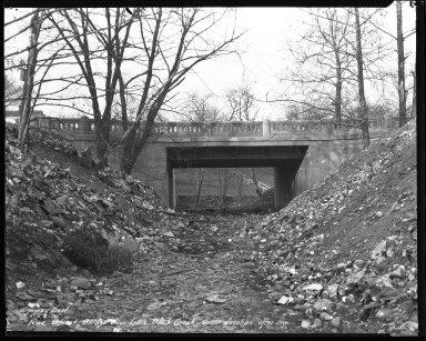 Street Improvement Photographs -- Box 44, Folder 15 (Roe Street Bridge) -- negative, 1931-02-02