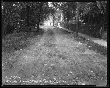 Street Improvement Photographs -- Box 44, Folder 18 (Rosemont Avenue) -- negative, 1931-09-03