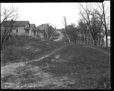 Street Improvement Photographs -- Box 44, Folder 18 (Rosemont Avenue) -- negative, 1930-03-17