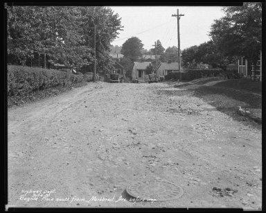 Street Improvement Photographs -- Box 44, Folder 25 (Sagola Avenue) -- negative, 1931-07-14