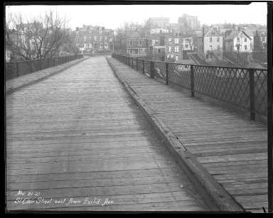 Street Improvement Photographs -- Box 44, Folder 27 (St. Clair Street) -- negative, 1927-11-25