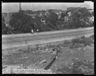 Street Improvement Photographs -- Box 44, Folder 27 (St. Clair Street) -- negative, 1929-09-17
