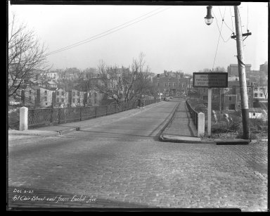 Street Improvement Photographs -- Box 44, Folder 27 (St. Clair Street) -- negative, 1927-12-05