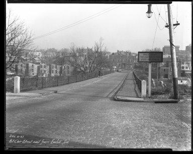 Street Improvement Photographs -- Box 44, Folder 27 (St. Clair Street) -- negative, 1927-12-05