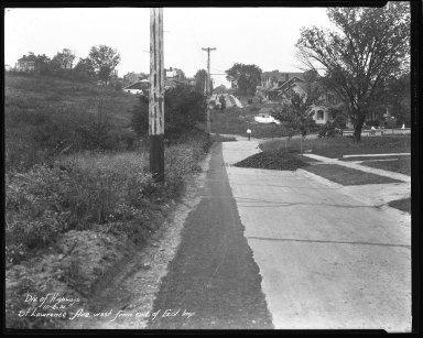 Street Improvement Photographs -- Box 44, Folder 29 (St. Lawrence Avenue) -- negative, 1931-10-02