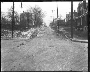 Street Improvement Photographs -- Box 44, Folder 31 (St. Lawrence Avenue) -- negative, 1930